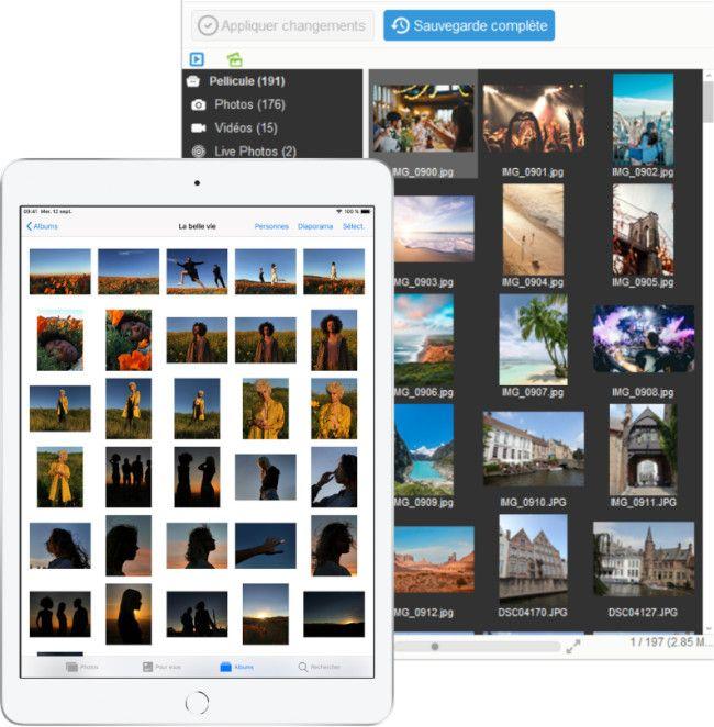 Albums photos iPhone