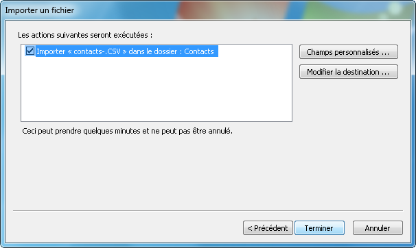 contacts PC