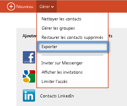 importer contacts hotmail iphone