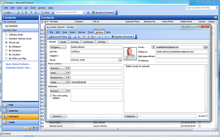 contacts-dans-outlook