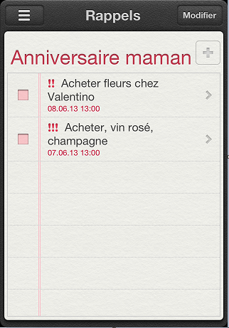 ios reminders on iphone after delete