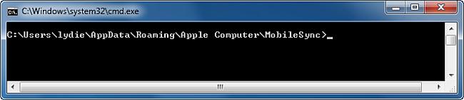 Apple dossier sauvegarde
