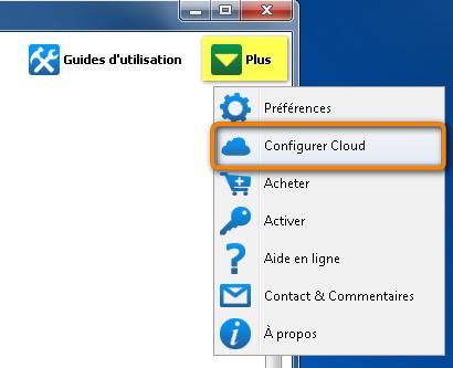 configurer cloud
