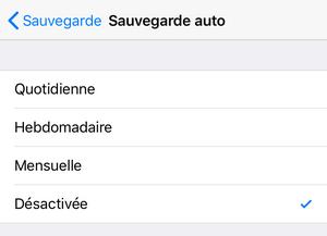 sauvegarde automatique whatsapp