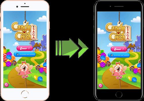 Sauvegarder et restaurer apps iPhone