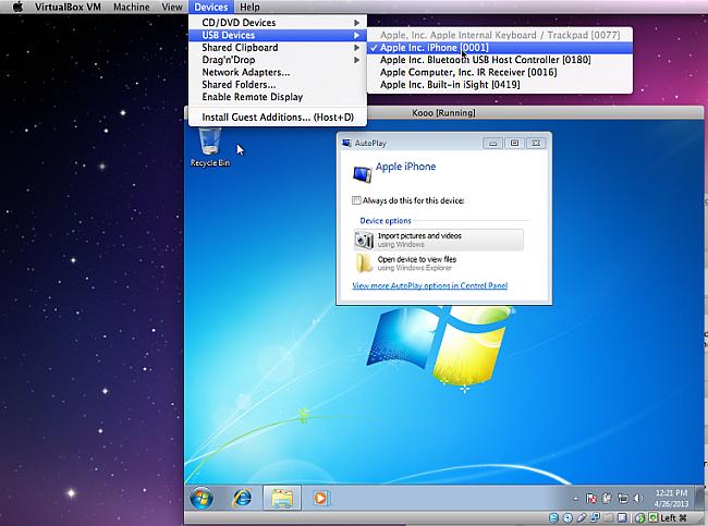 windows running mac copytrans
