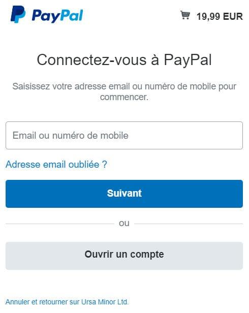 Acheter logiciels CopyTrans via PayPal