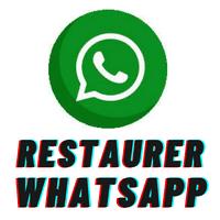 retrouver conversation WhatsApp