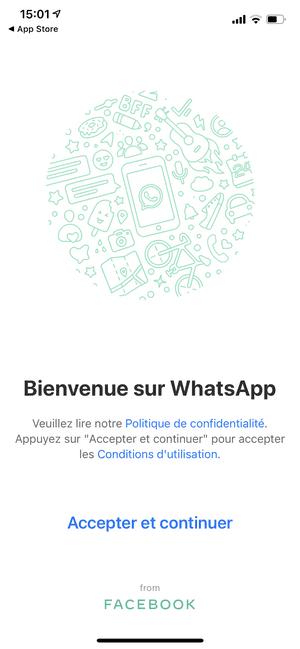 Télécharger l'application WhatsApp sur l'iPhone