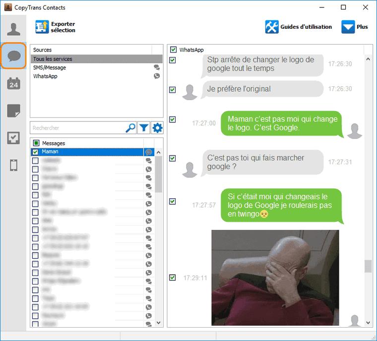Voir les messages iPhone sur votre ordinateur PC
