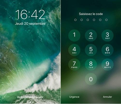 Pour accéder à l écran d accueil de votre iPhone déverrouillez votre appareil