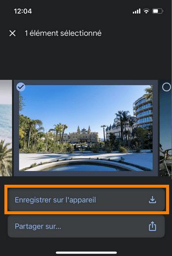 google photos iphone
