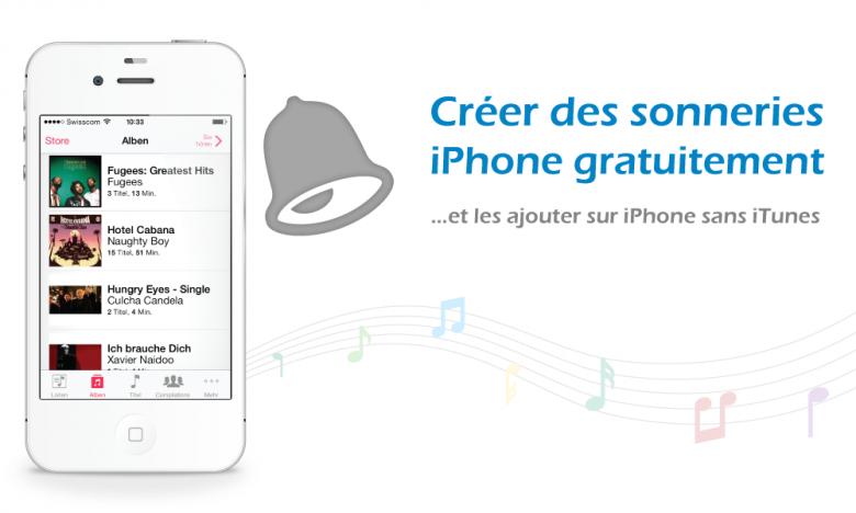 créer des sonneries iPhone