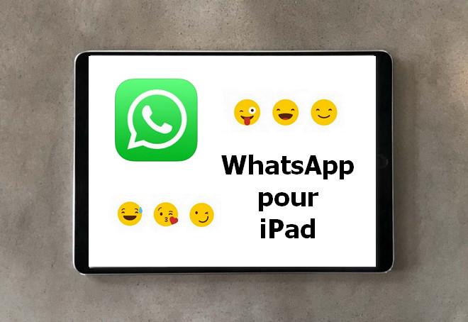 whatsapp pour ipad