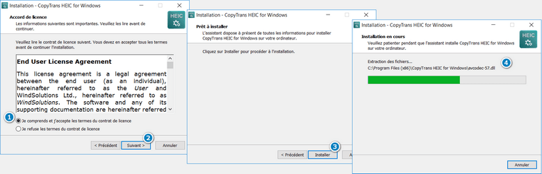 installer copytrans heic pour windows