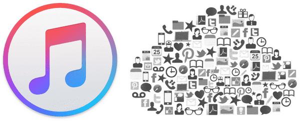Logos iTunes et iCloud