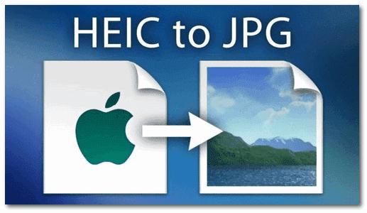 Convertir HEIC en JPEG