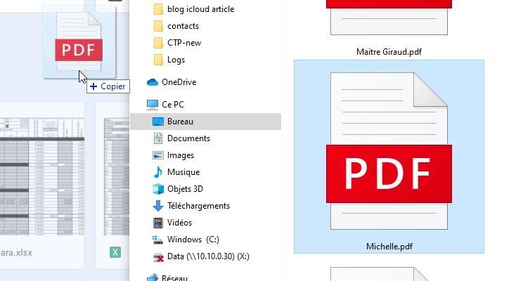importer pdf dans google drive