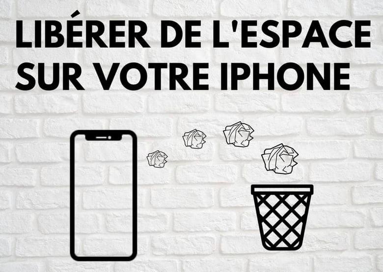 comment libérer l'espace sur iPhone ou iPad