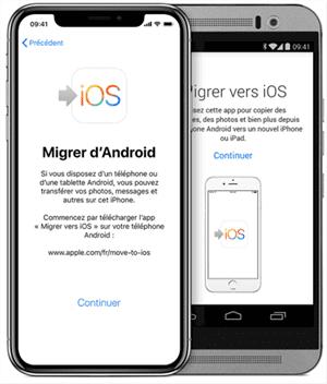 Migrer vers iOS façon automatique