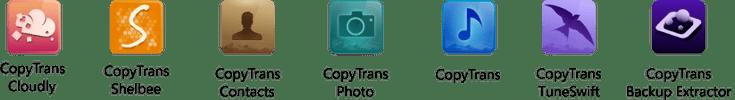 CopyTrans 7 Pack - logiciels