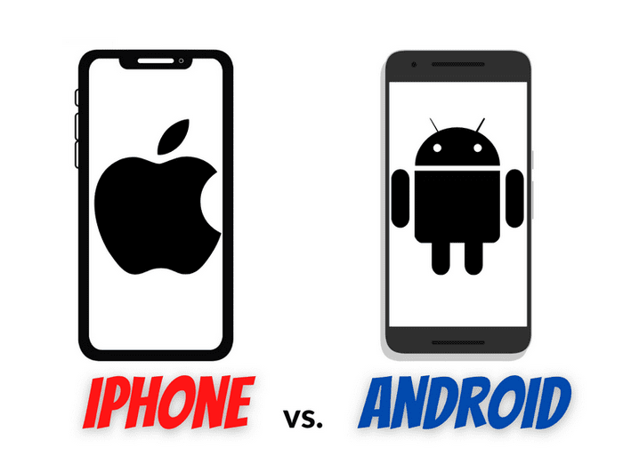 difference entre iphone et smartphone