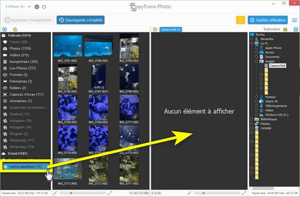 logiciel lecture photo données exif