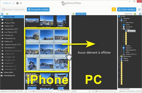 sauvegarder metadata photo