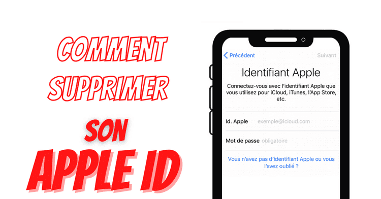 Comment supprimer son Apple ID