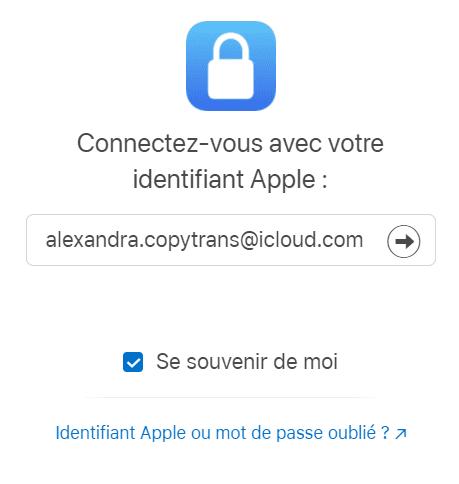 Accéder au site privacy apple